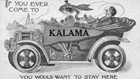 Postcard advertising Kalama Washington circa 1925-1930